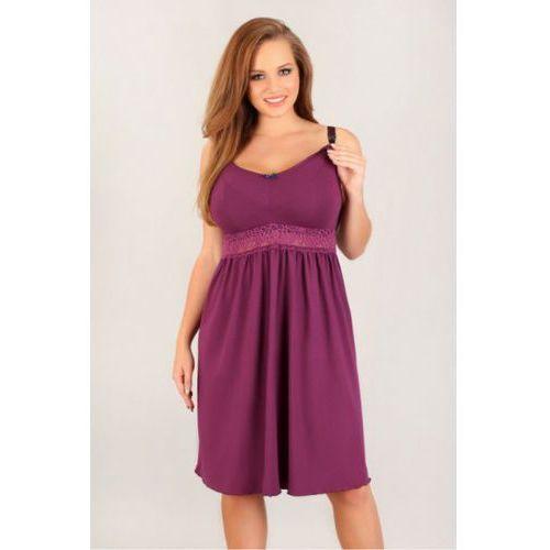 Koszula Nocna Model 3004 Violet, kolor fioletowy
