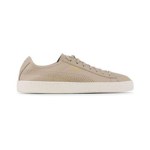 Buty męskie sneakersy basket classic 363824-05 brązowe marki Puma