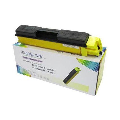Cartridge web Toner cw-k580yn yellow do drukarek kyocera (zamiennik kyocera tk-580y) [2.8k]