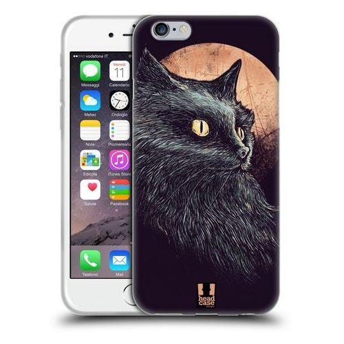 Head case Etui silikonowe na telefon - cats of goth orange moon