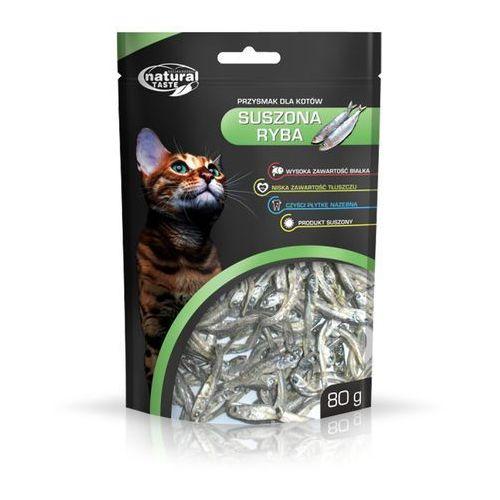 Natural taste cat suszony ryba 80g x 8 marki Dolina noteci