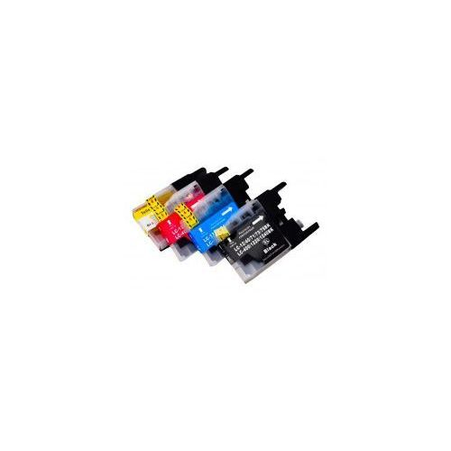Tusze zamieniki Vanke do Brother LC1220/1240/1280XL - CMYK (komplet, 50 ml), Vanke-LC-1240