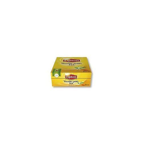 Herbata yellow label 100szt. marki Lipton