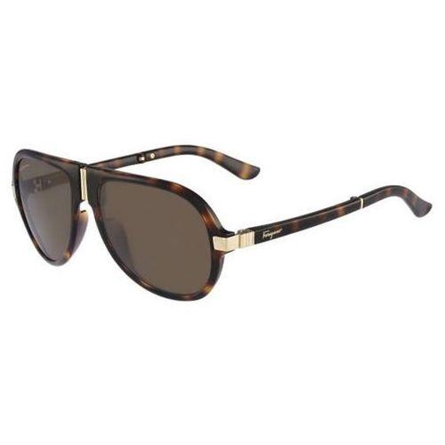 Okulary słoneczne sf 662sp 214 marki Salvatore ferragamo