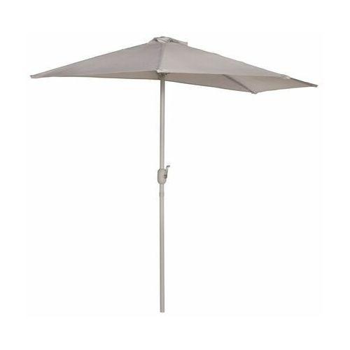 Home & garden Parasol ogrodowy 140 x 265 cm bima szary półokrągły (5906735730562)