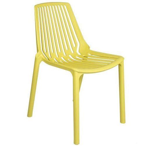 Krzesło tulon żółte, marki Ehokery.pl