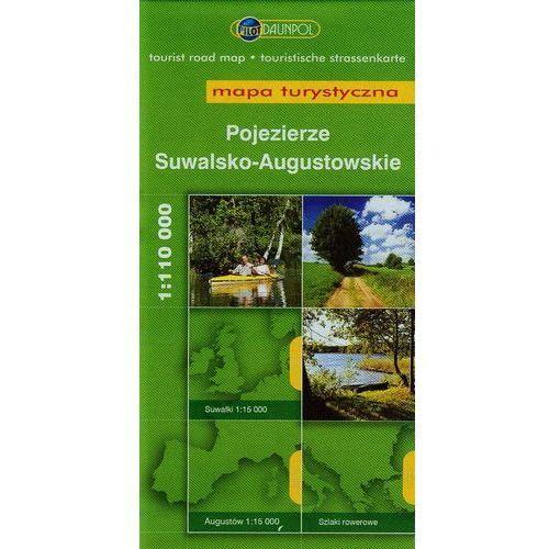 Pojezierze Suwalsko- Augustowskie. Mapa turystyczna w skali 1:110 000, Daunpol