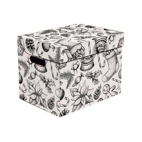 Pudełko kartonowe PREZENTY 34x26x25 cm (5904378236892)