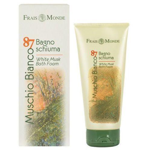 Frais Monde Muschio Bianco 87 White Musk Bath Foam 200ml W Płyn do kąpieli