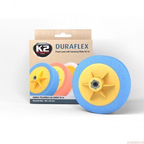 Duraflex - niebieska gąbka polerska m14 gąbka mocnościerna, super trwarda marki K2