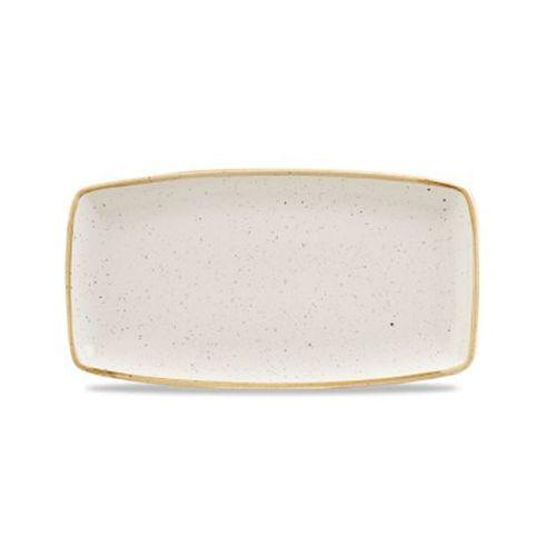 Półmisek 350 x 185 mm, biały | CHURCHILL, Stonecast Barley White