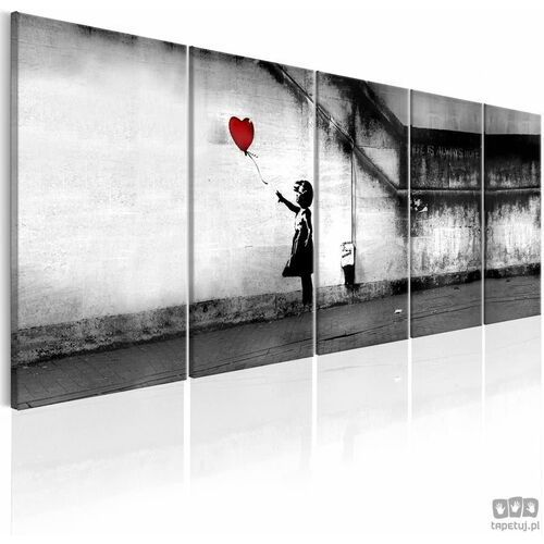 Obraz Banksy: Uciekający balon