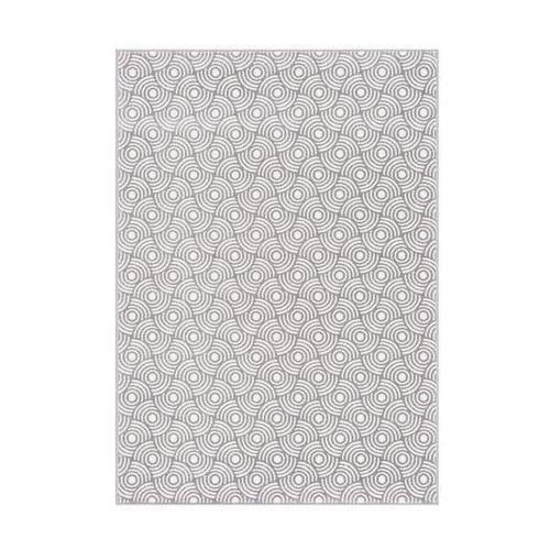 Dywan trifo popielaty 133 x 190 cm marki Agnella