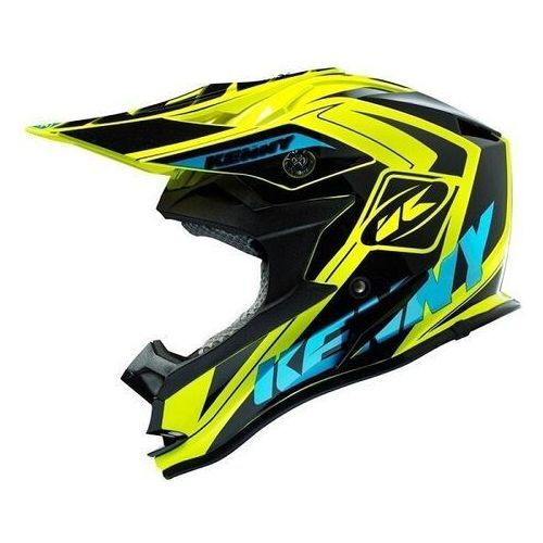 kask performance fluo cyan marki Kenny