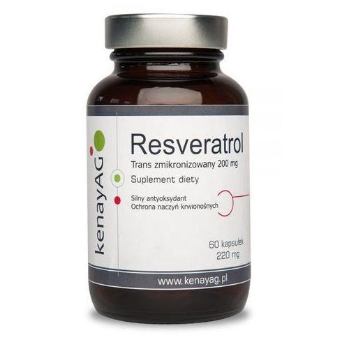 Resweratrol trans - zmikronizowany 200 mg (60 kapsułek)