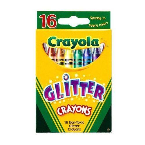 Crayola Kredki brokatowe 16 kolorów