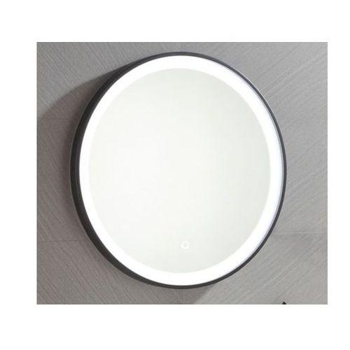 Vente-unique Okrągłe lustro łazienkowe z podświetleniem led numea - dł. 60 x gł. 3.5 x wys. 60