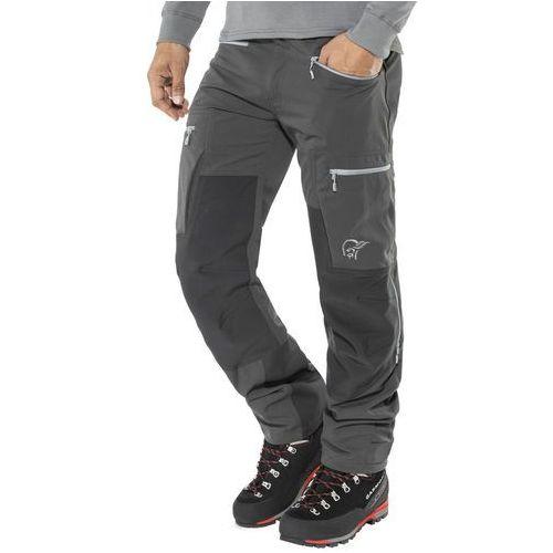 Norrøna Svalbard Heavy Duty Spodnie długie Mężczyźni czarny S 2018 Spodnie turystyczne