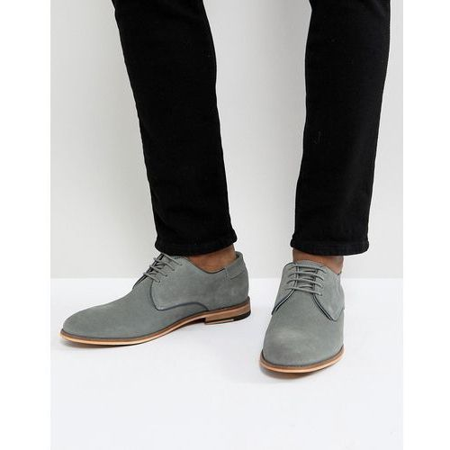 suede lace up shoes in grey - grey marki Pier one