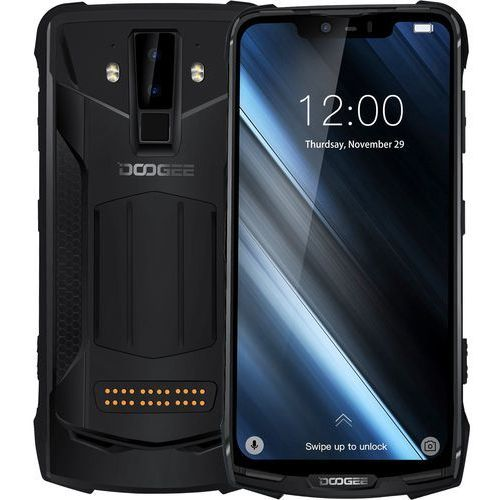 Smartfon s90 czarny + powerbank + walkie talkie + kamera marki Doogee