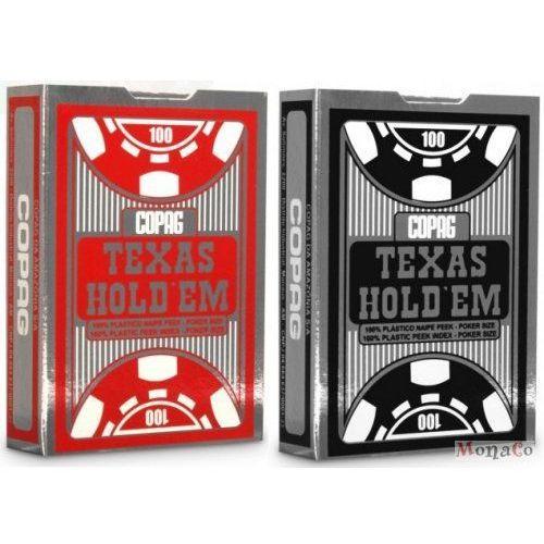Karty copag texas holdem silver - 100% plastik - pojedyncze karty copag texas holdem silver- 100% plastik - pojedyncze marki Copag cards
