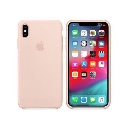 silicone case do iphone xs max, pink sand >> bogata oferta - szybka wysyłka - promocje - darmowy transport od 99 zł! marki Apple