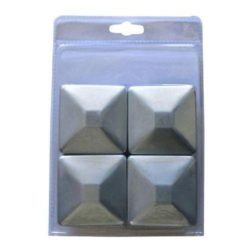 Zestaw kapturków Blooma metalowy 9,1 x 9,1 cm ocynk 4 szt. (3663602943518)