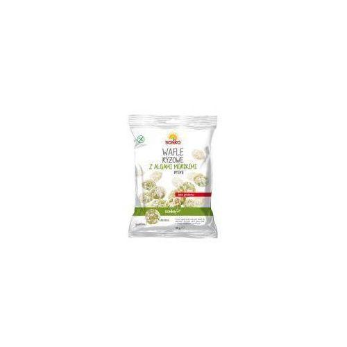 Wafle ryżowe mini z algami morskimi 40 g Sonko (5902180470602)