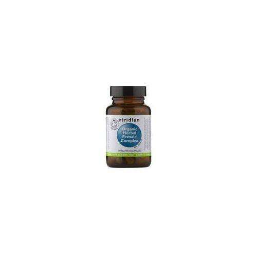 Kapsułki Ekologiczny kompleks ziół dla kobiet Organic herbal famale complex 30 kapsułek Viridian