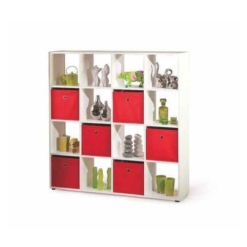 Style furniture Regał cabot 16, biały
