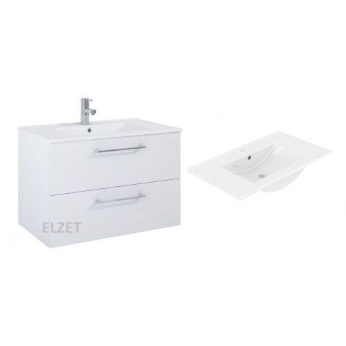 ELITA Roma Plus white szafka + umywalka 80 5110011, 5110011