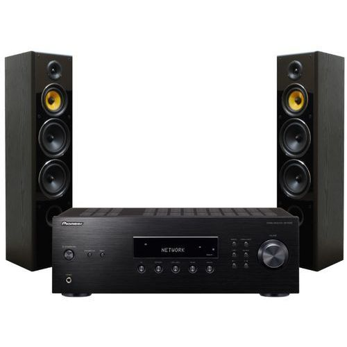 Zestaw stereo sx-10aeb + taga tav-606f czarny słuchawki gratis! darmowy transport marki Pioneer