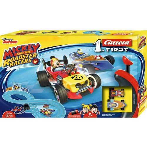 Carrera Tor samochodowy carrera 1. first - mickey and the roadster racers 63012 (4007486630123)