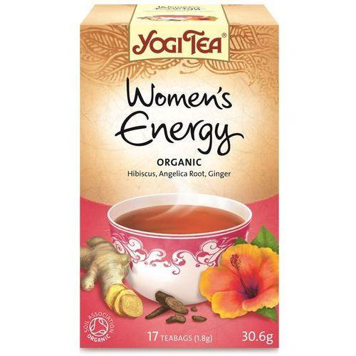 Herbata dla kobiet energia bio (yogi tea) 17 saszetek po 1,8g, marki Yogi tea, usa