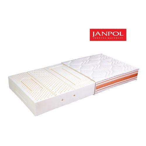 JANPOL PIANO - materac lateksowy, piankowy, Rozmiar - 80x200, Pokrowiec - Jersey Standard WYPRZEDAŻ, WYSYŁKA GRATIS