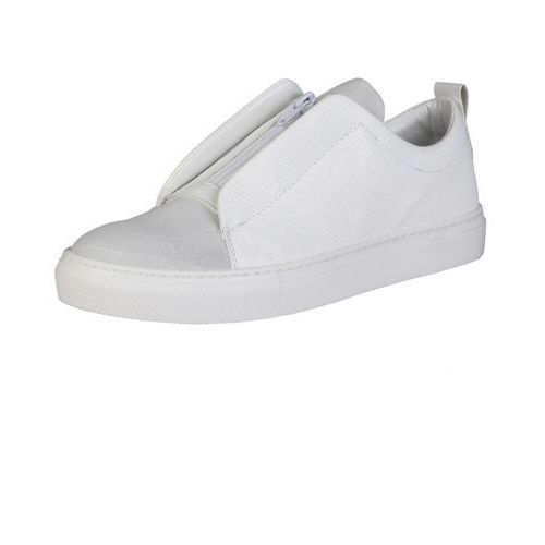 Męskie Buty Sneakersy Made in Italia GREGORIO Białe (8050750279067)