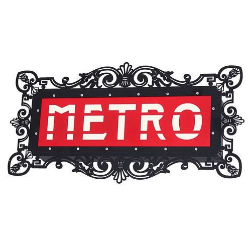 Aldex Kinkiet lampa ścienna arlet metro 2x25w e14 biały / czarny / czerwony 821s5