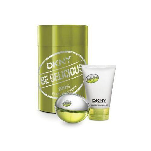 Donna karan Be delicious for women zestaw woda perfumowana spray 50ml + balsam do ciała 100ml