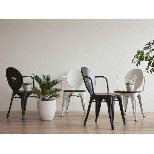 Krzesło czarne - do jadalni - do kuchni - do salonu - LORANE