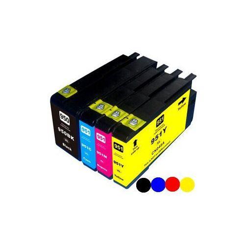 Zgodny multipack hp 950-xl, 951-xl (c2p43ae), black + color (czarny + kolor) od marki Mbm