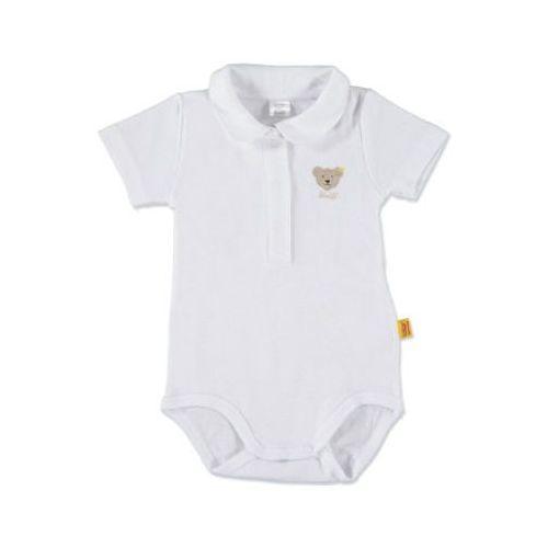 STEIFF Girls Baby Body z rękawem 1/4 bright white (4028193375367)