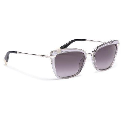 Okulary przeciwsłoneczne FURLA - Elisir 919655 D 143F REM Onyx/Petalo