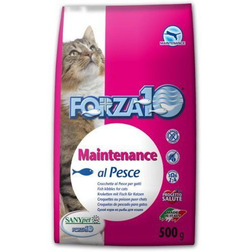 Forza10 Maintenance z rybą dla kota: waga - 10 kg DOSTAWA 24h GRATIS od 99zł