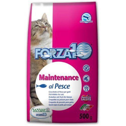 Forza10 maintenance z rybą dla kota: waga - 500 g dostawa 24h gratis od 99zł
