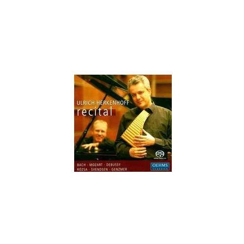 Ulrich Herkenhoff Recital: Johann Sebastian Bach: Concerto Flute & Keyboard (4260034866102)