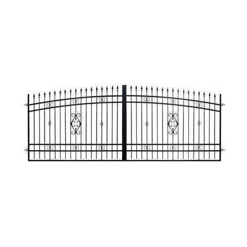 Brama dwuskrzydłowa verona 408 cm marki Polbram