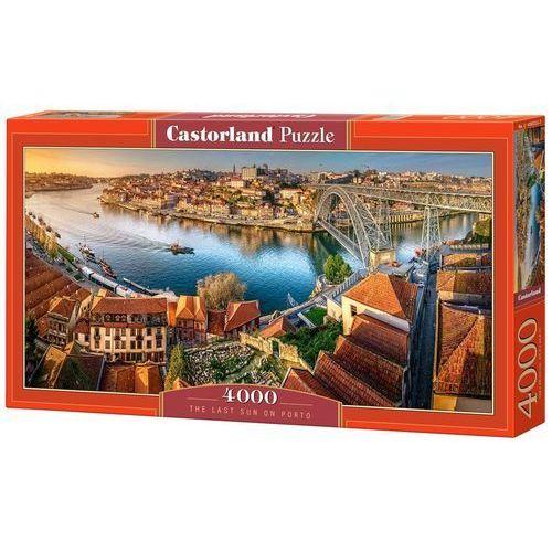 Puzzle 4000 el.:The Last Sun on Porto - Castor DARMOWA DOSTAWA KIOSK RUCHU (5904438400232)