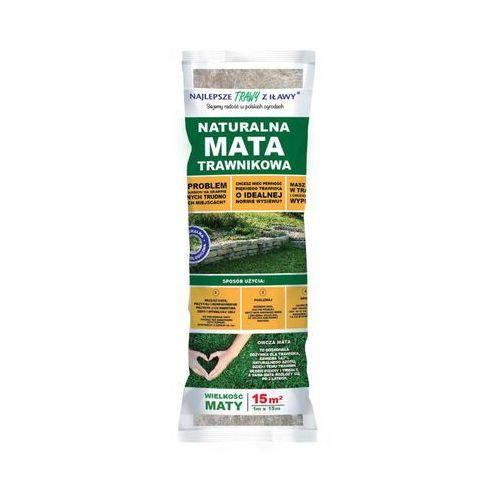 Najlepsze trawy z iławy Nasiona traw w macie z wełny owczej 15 m2