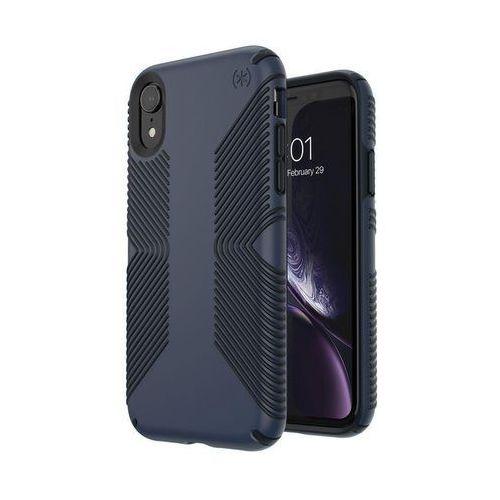Speck Presidio Grip - Etui do iPhone XR Granatowy/Czarny, kolor czarny