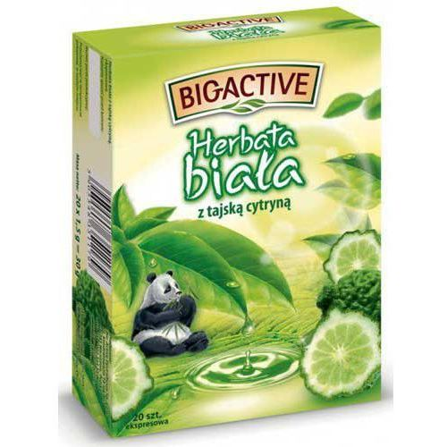 Big-active Bio-active herbata biała z tajską cytryną 20x2g